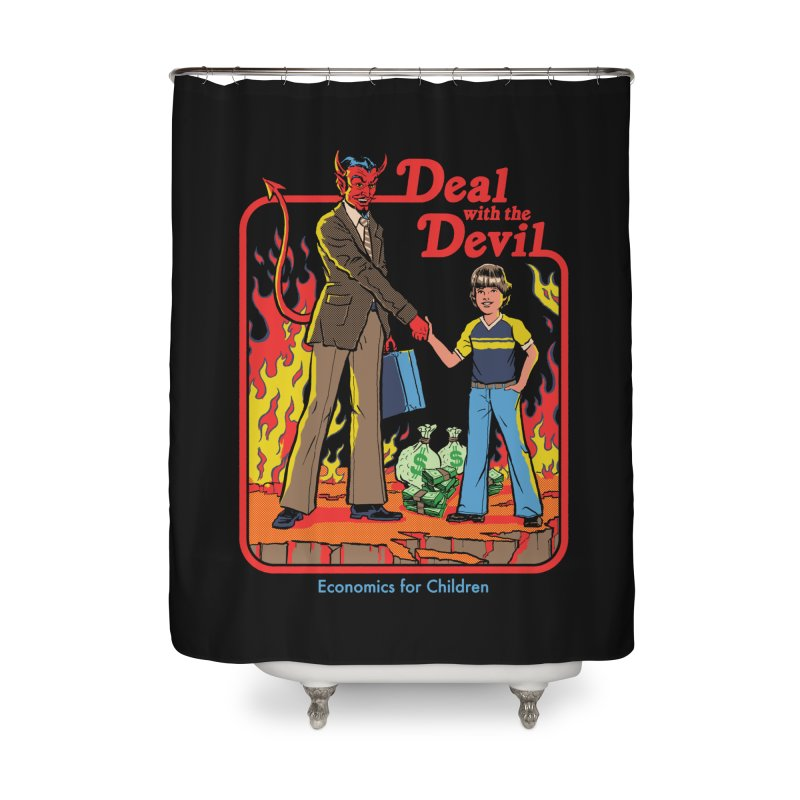 Deal with the Devil Home Shower Curtain by Steven Rhodes