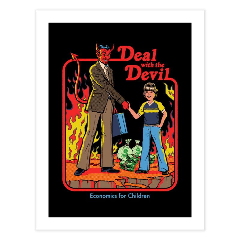 Deal with the Devil Home Fine Art Print by Steven Rhodes