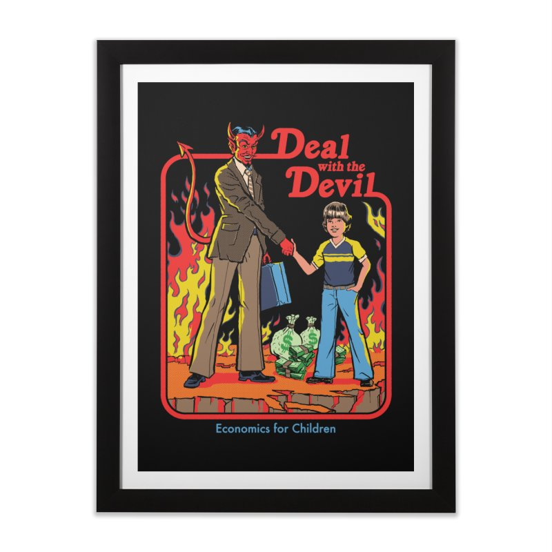 Deal with the Devil Home Framed Fine Art Print by Steven Rhodes