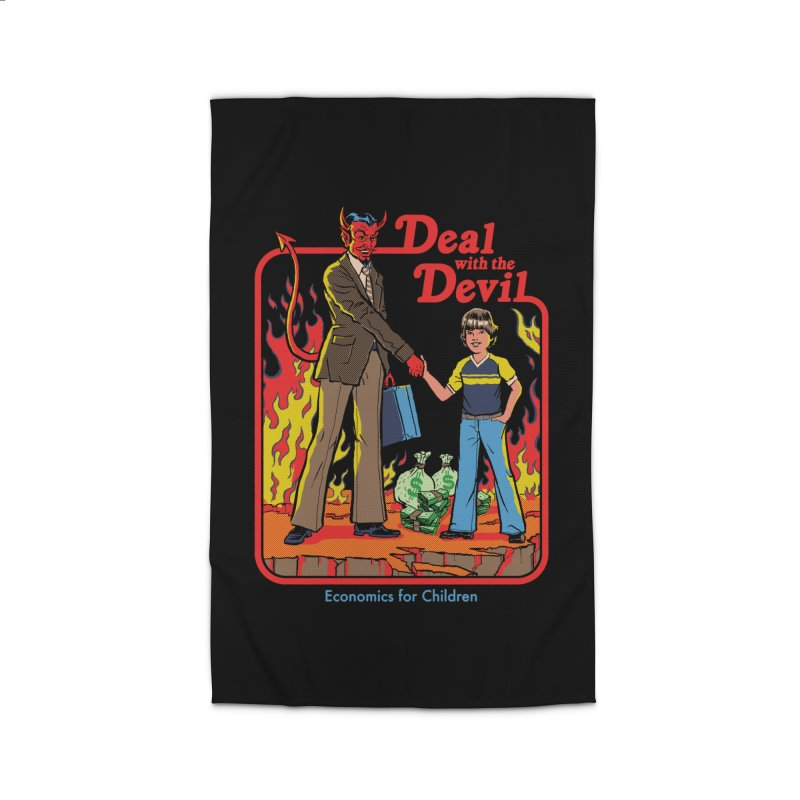 Deal with the Devil Home Rug by Steven Rhodes