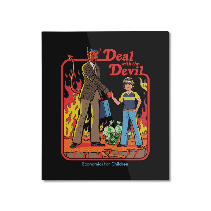 Deal with the Devil Home Mounted Aluminum Print by Steven Rhodes