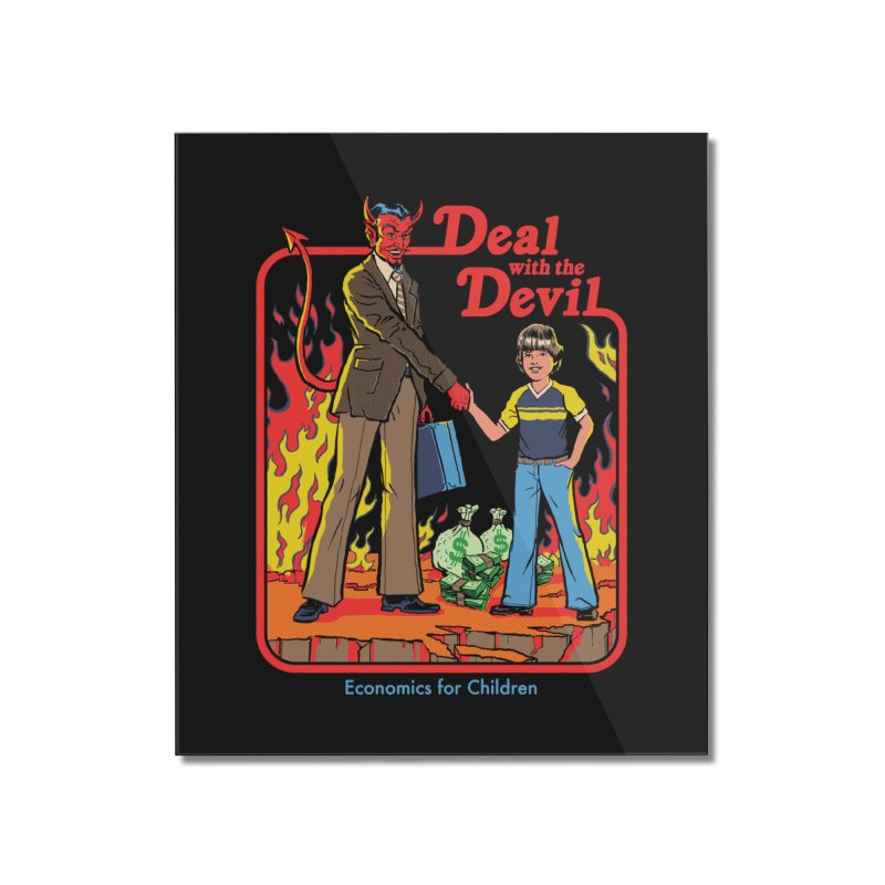 Deal with the Devil Home Mounted Acrylic Print by Steven Rhodes
