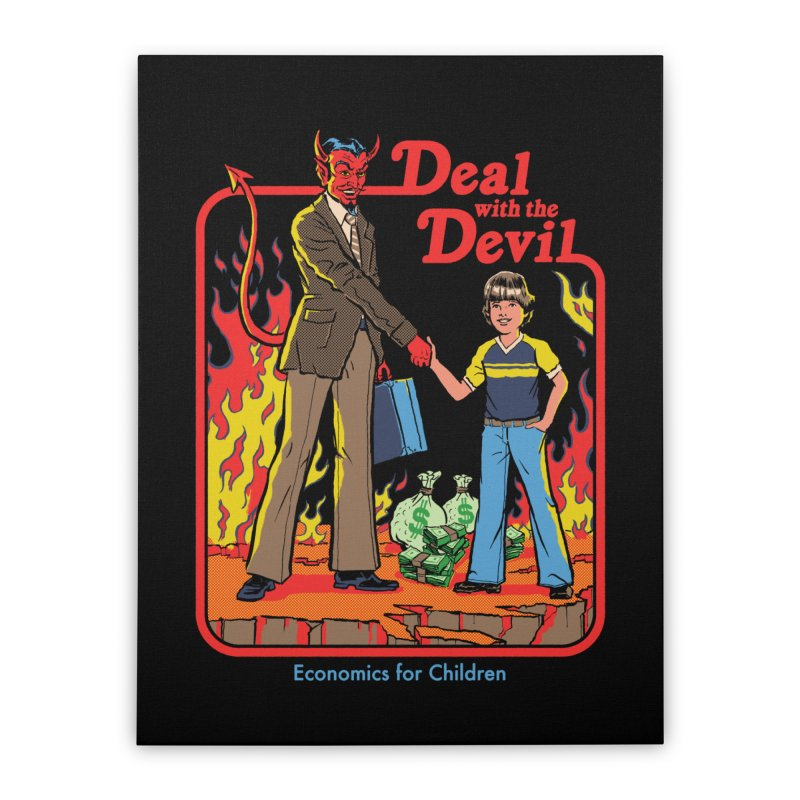 Deal with the Devil Home Stretched Canvas by Steven Rhodes
