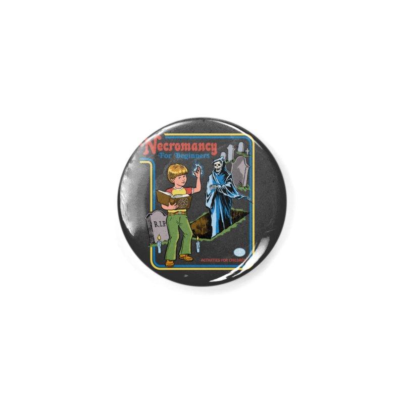 Necromancy for Beginners Accessories Button by Steven Rhodes