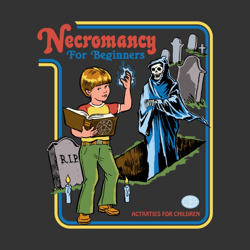 Necromancy for Beginners Kids Longsleeve T-Shirt by Steven Rhodes