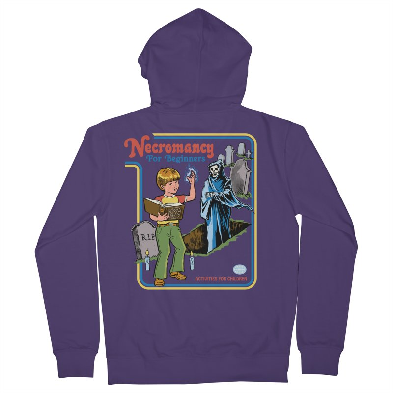 Necromancy for Beginners Women's French Terry Zip-Up Hoody by Steven Rhodes