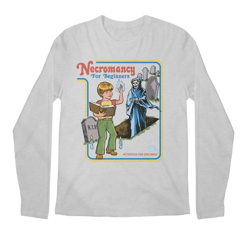 Necromancy for Beginners Men's Regular Longsleeve T-Shirt by Steven Rhodes