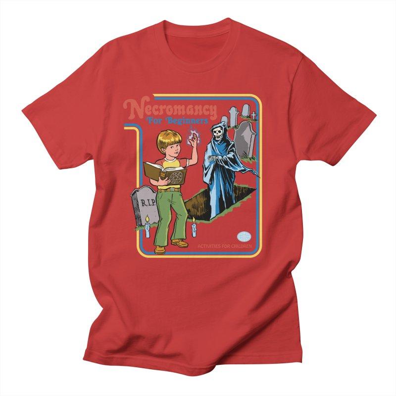 Necromancy for Beginners Men's Regular T-Shirt by Steven Rhodes