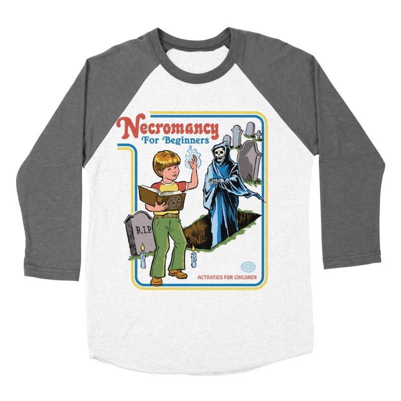 Necromancy for Beginners Women's Baseball Triblend Longsleeve T-Shirt by Steven Rhodes
