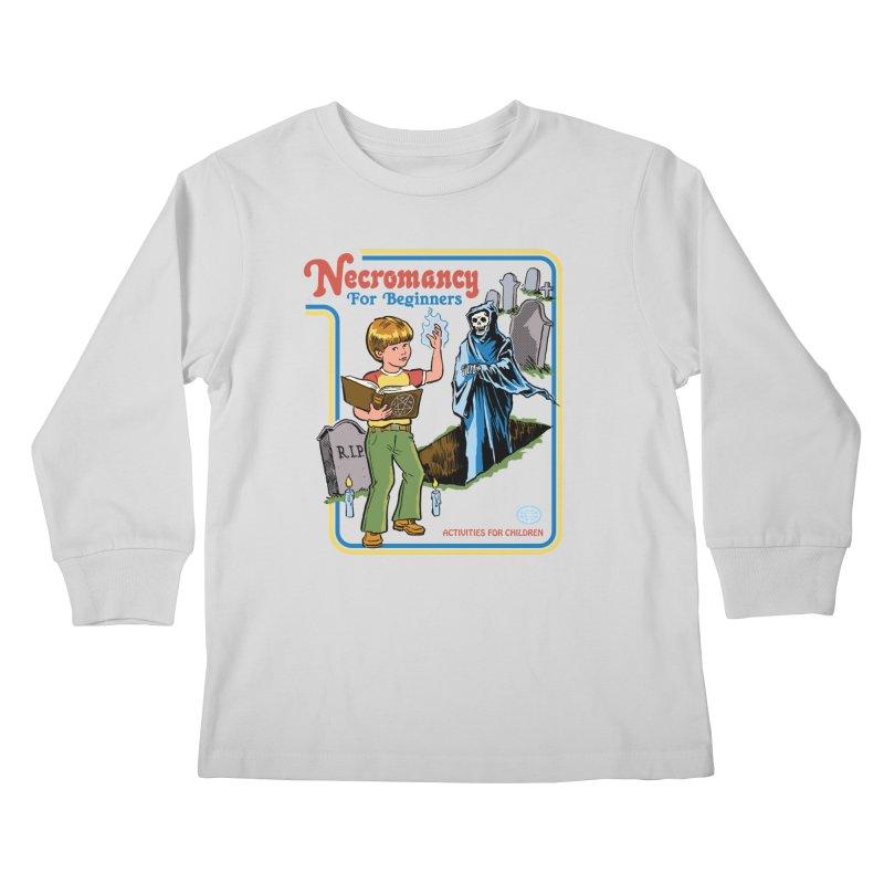 Necromancy for Beginners Kids Longsleeve T-Shirt by Steven Rhodes