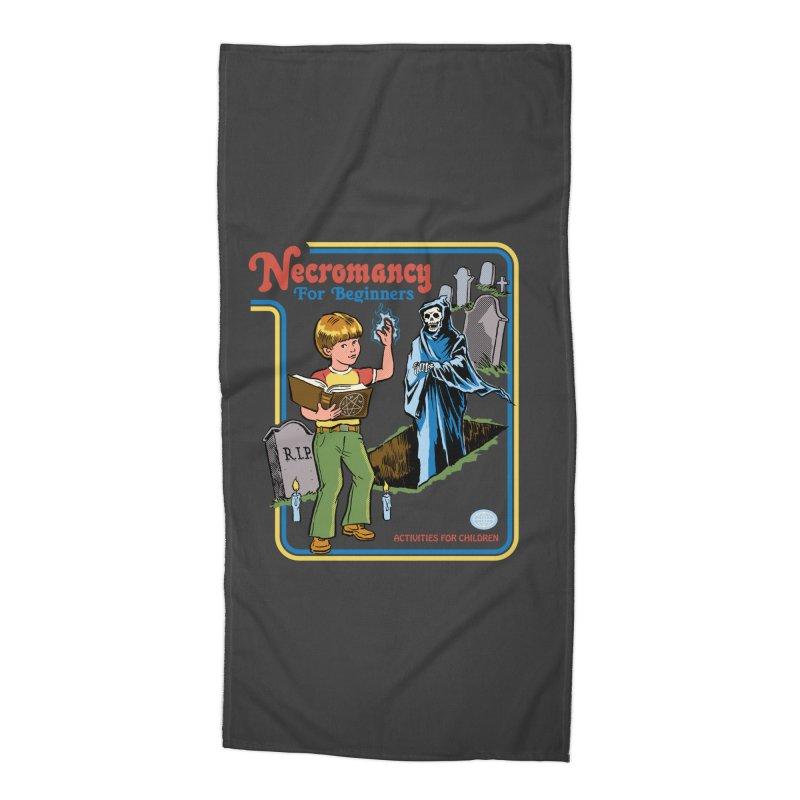 Necromancy for Beginners Accessories Beach Towel by Steven Rhodes