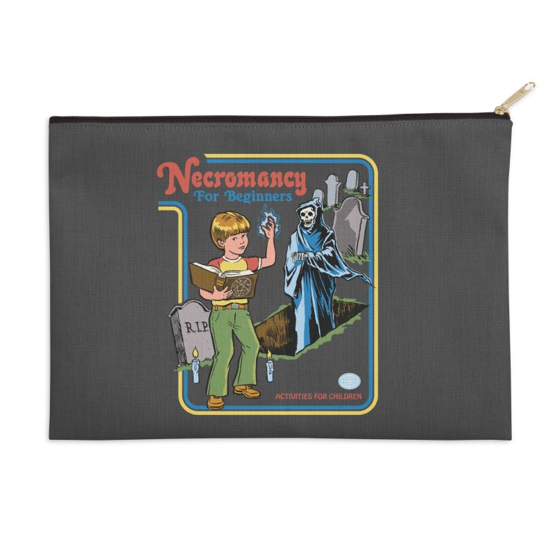 Necromancy for Beginners Accessories Zip Pouch by Steven Rhodes
