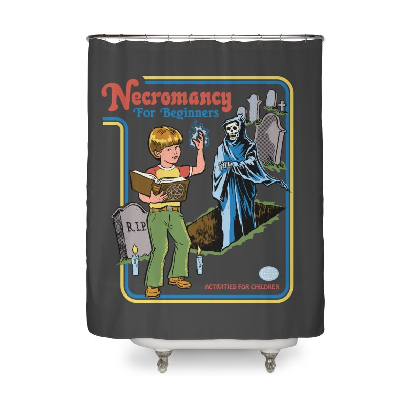 Necromancy for Beginners Home Shower Curtain by Steven Rhodes