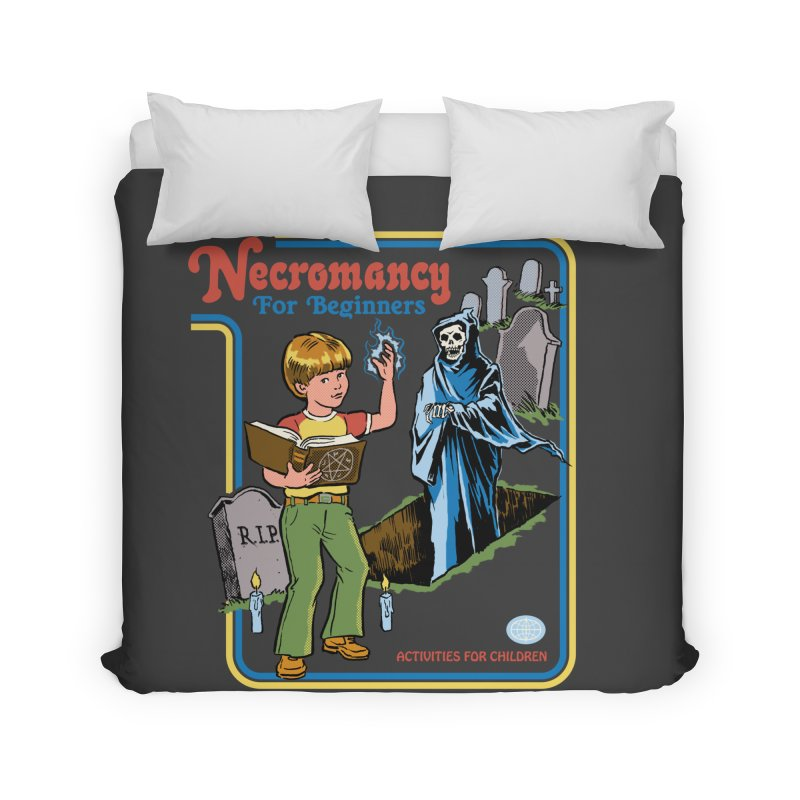 Necromancy for Beginners Home Duvet by Steven Rhodes