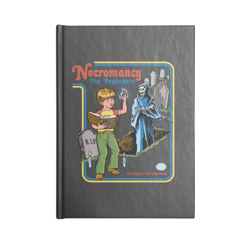 Necromancy for Beginners Accessories Notebook by Steven Rhodes