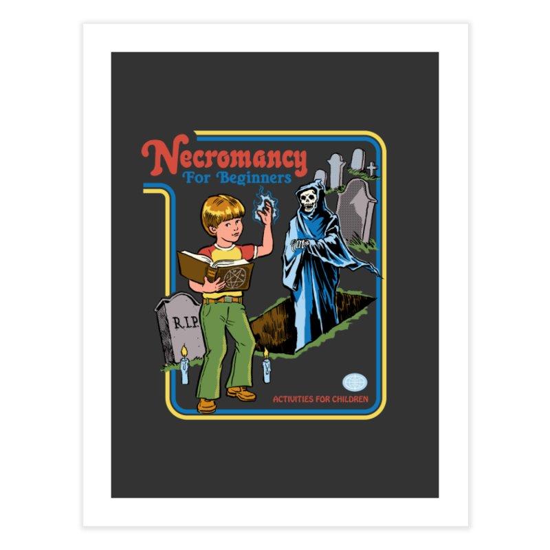 Necromancy for Beginners Home Fine Art Print by Steven Rhodes