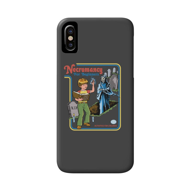 Necromancy for Beginners Accessories Phone Case by Steven Rhodes