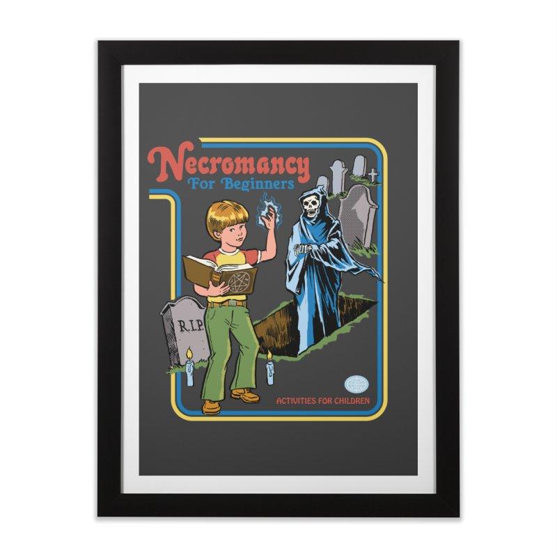 Necromancy for Beginners Home Framed Fine Art Print by Steven Rhodes