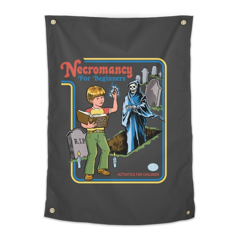 Necromancy for Beginners Home Tapestry by Steven Rhodes
