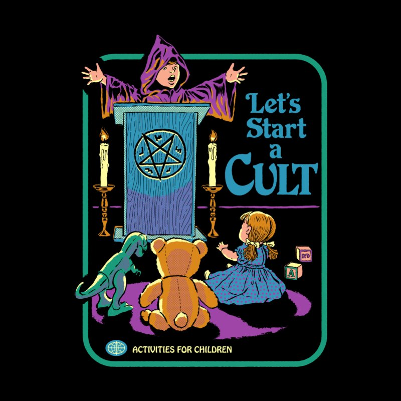 Let's Start a Cult Accessories Beach Towel by Steven Rhodes