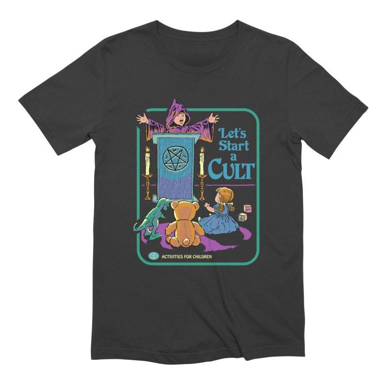 Let's Start a Cult Men's T-Shirt by Steven Rhodes