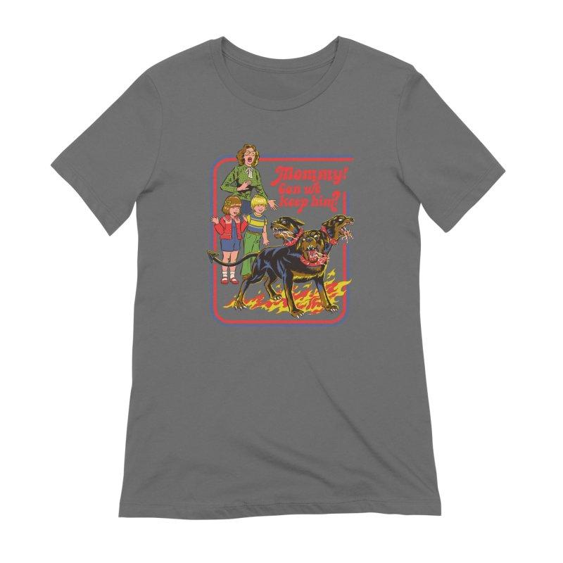 Cerberus Women's T-Shirt by Steven Rhodes