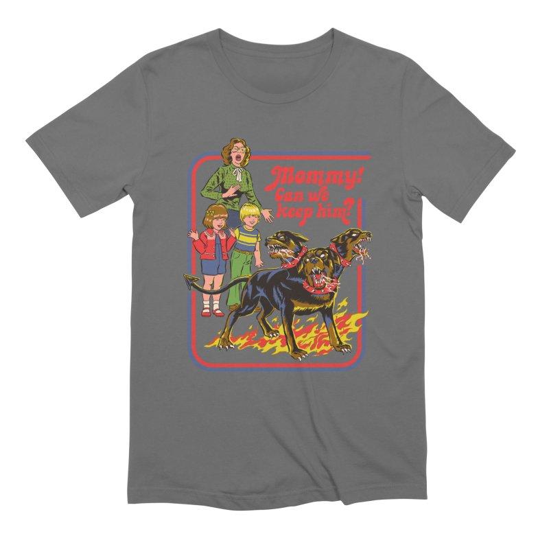 Cerberus Men's T-Shirt by Steven Rhodes