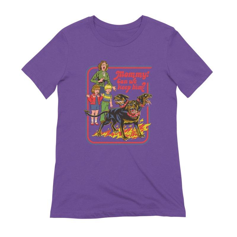 Cerberus Women's Extra Soft T-Shirt by Steven Rhodes