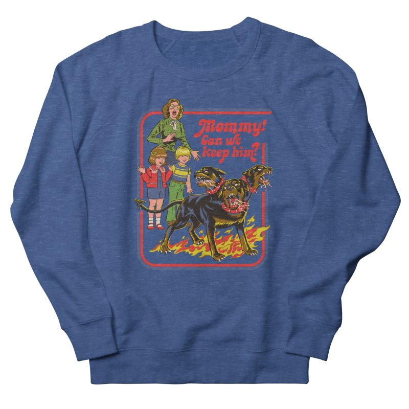 Cerberus Men's Sweatshirt by Steven Rhodes