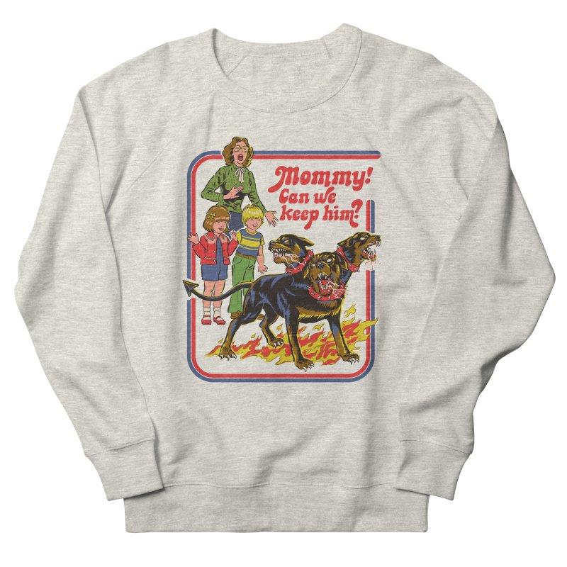 Cerberus Women's French Terry Sweatshirt by Steven Rhodes