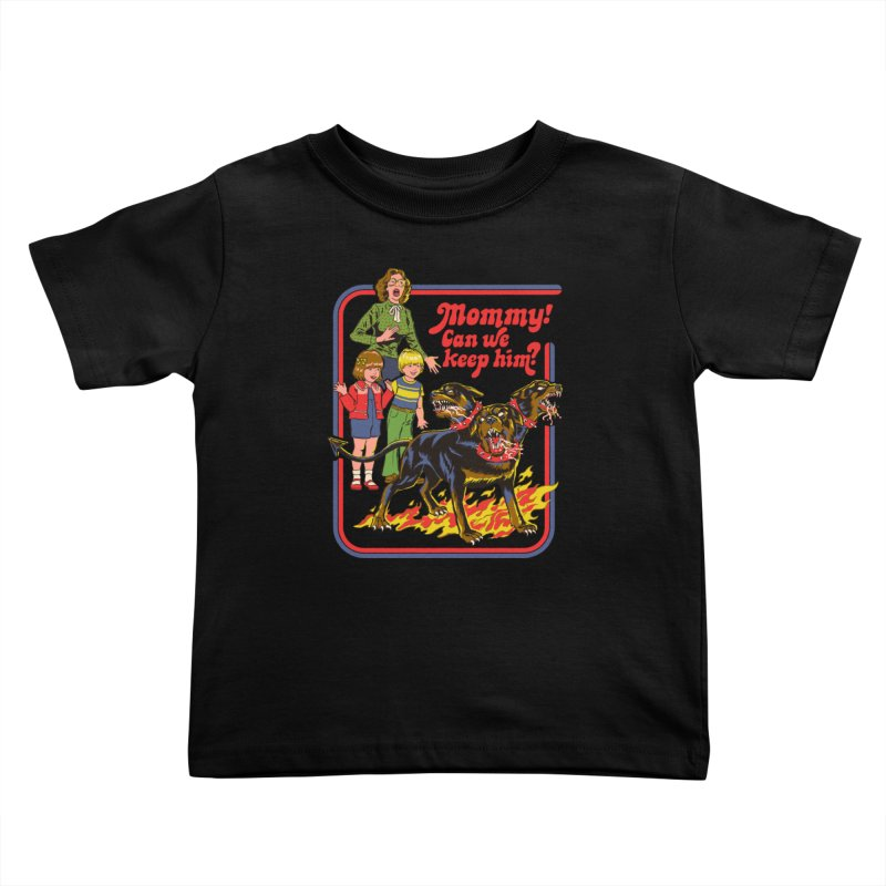 Cerberus Kids Toddler T-Shirt by Steven Rhodes