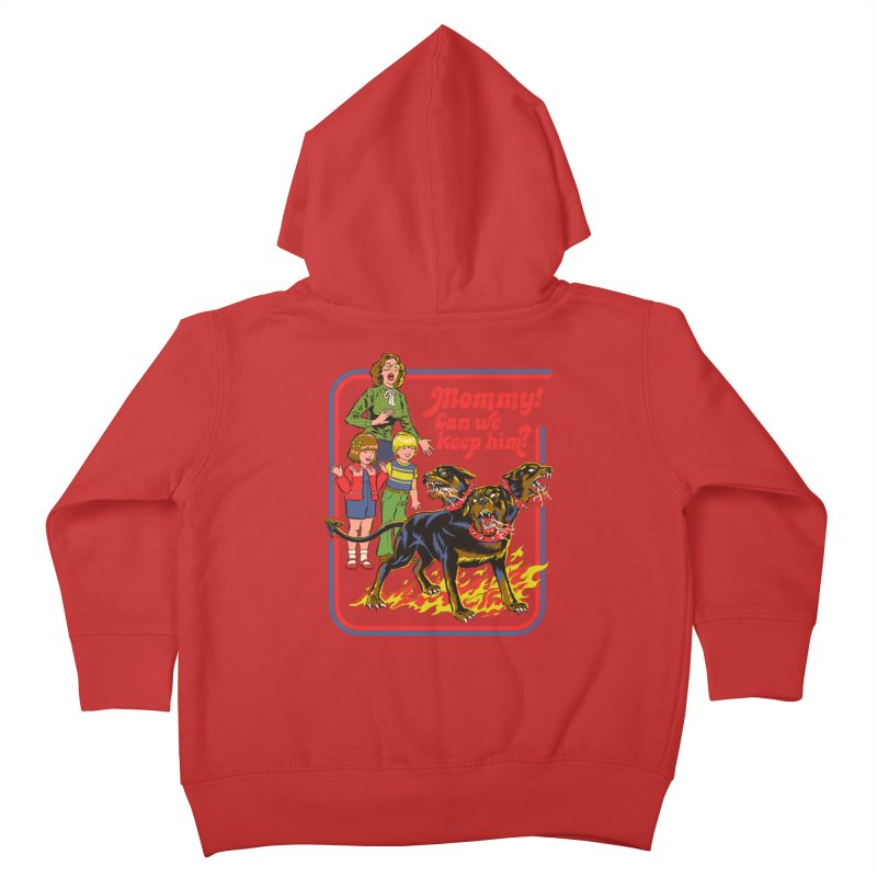 Cerberus Kids Toddler Zip-Up Hoody by Steven Rhodes