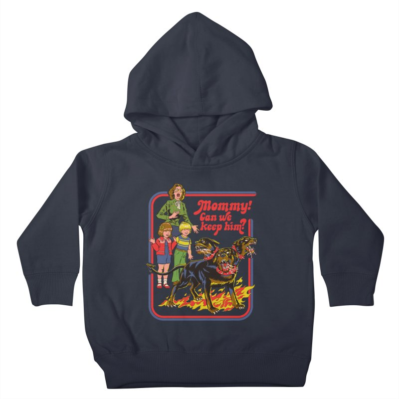 Cerberus Kids Toddler Pullover Hoody by Steven Rhodes