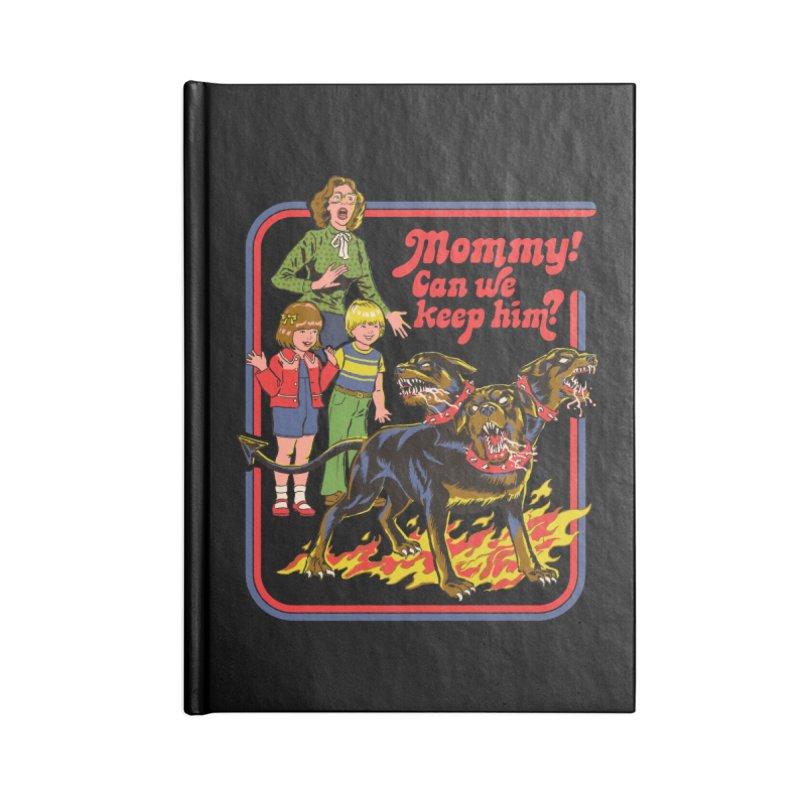 Cerberus Accessories Notebook by Steven Rhodes