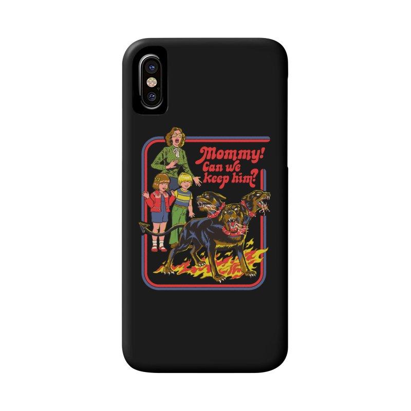 Cerberus Accessories Phone Case by Steven Rhodes