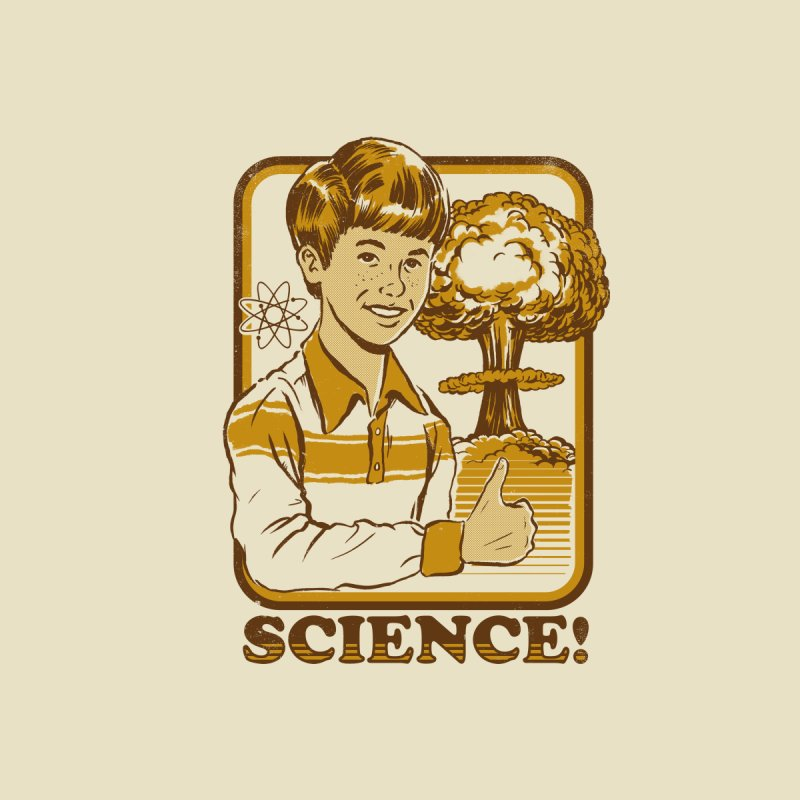 SCIENCE! Variant 2 Men's T-Shirt by Steven Rhodes