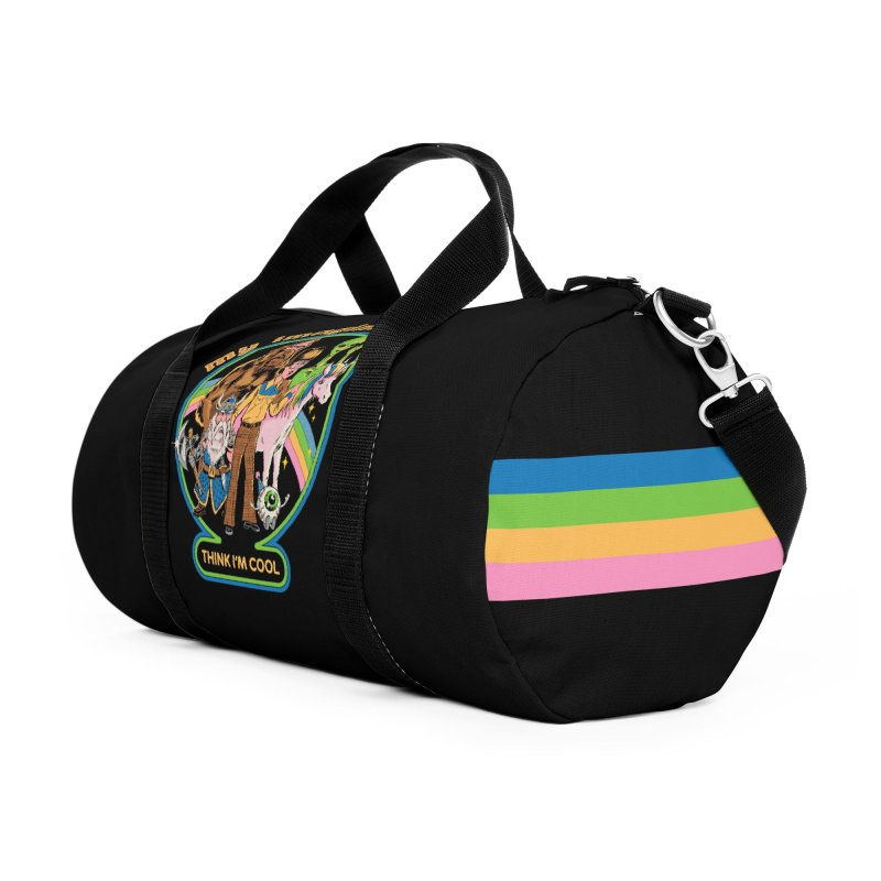 My Imaginary Friends Accessories Duffel Bag Bag by Steven Rhodes