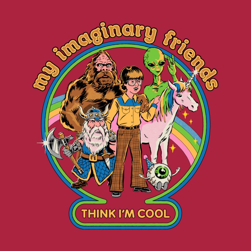 My Imaginary Friends by Steven Rhodes