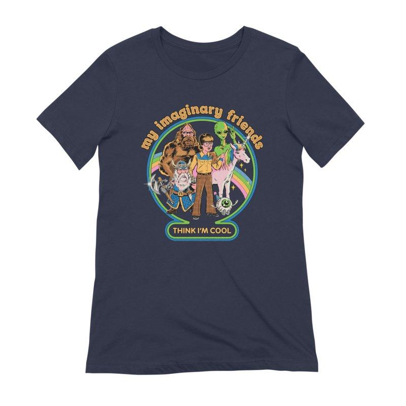 My Imaginary Friends Women's Extra Soft T-Shirt by Steven Rhodes