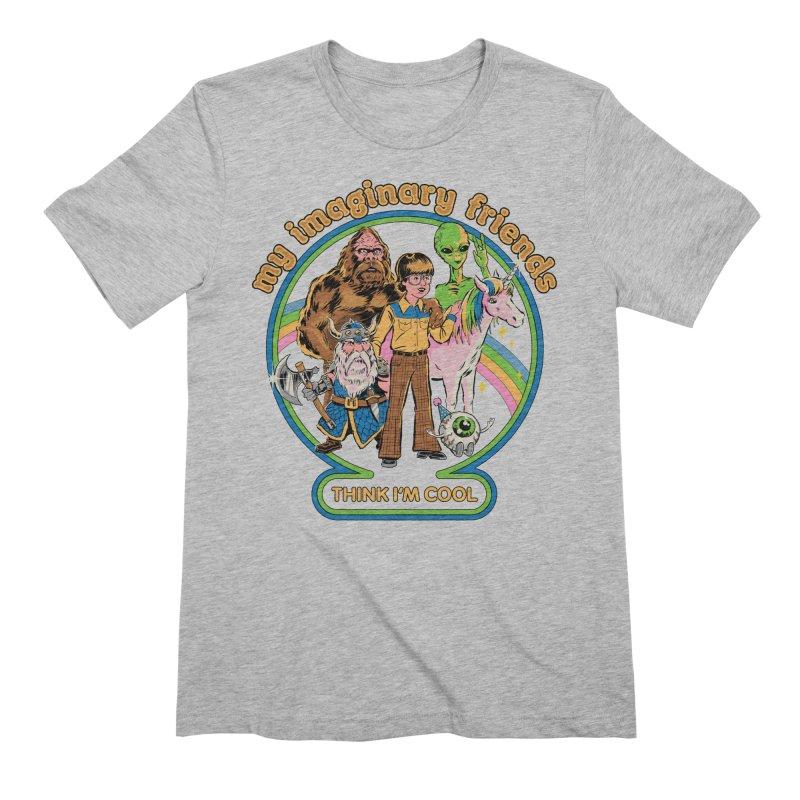 My Imaginary Friends Men's T-Shirt by Steven Rhodes