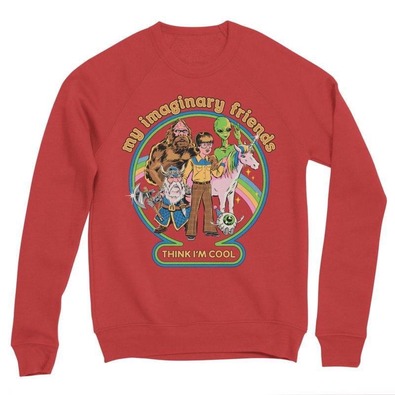 My Imaginary Friends Men's Sponge Fleece Sweatshirt by Steven Rhodes