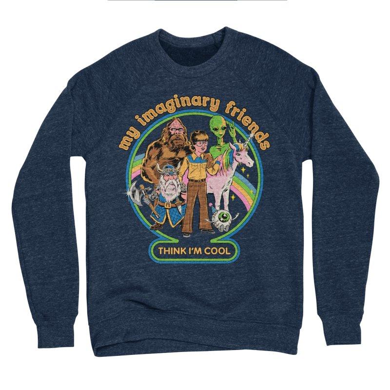 My Imaginary Friends Women's Sponge Fleece Sweatshirt by Steven Rhodes