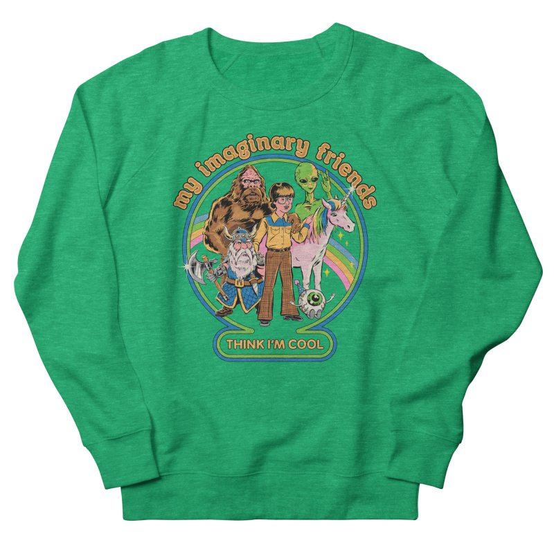 My Imaginary Friends Women's Sweatshirt by Steven Rhodes