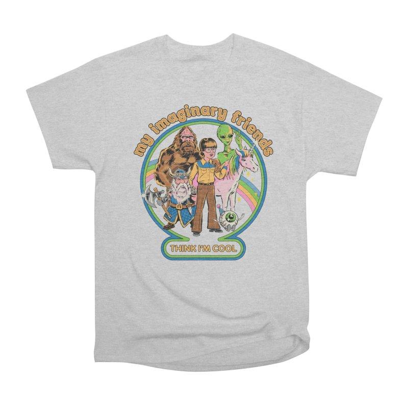 My Imaginary Friends Women's Heavyweight Unisex T-Shirt by Steven Rhodes