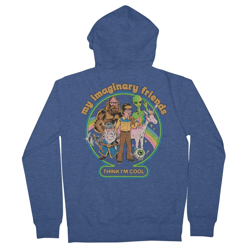 My Imaginary Friends Women's French Terry Zip-Up Hoody by Steven Rhodes