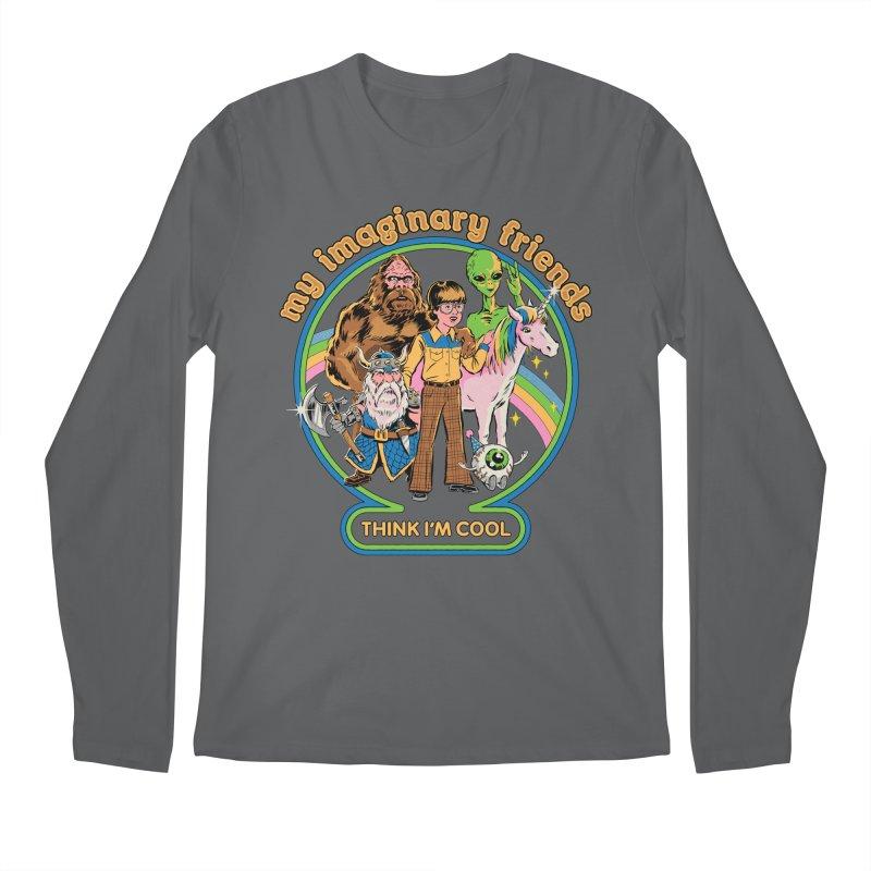 My Imaginary Friends Men's Regular Longsleeve T-Shirt by Steven Rhodes