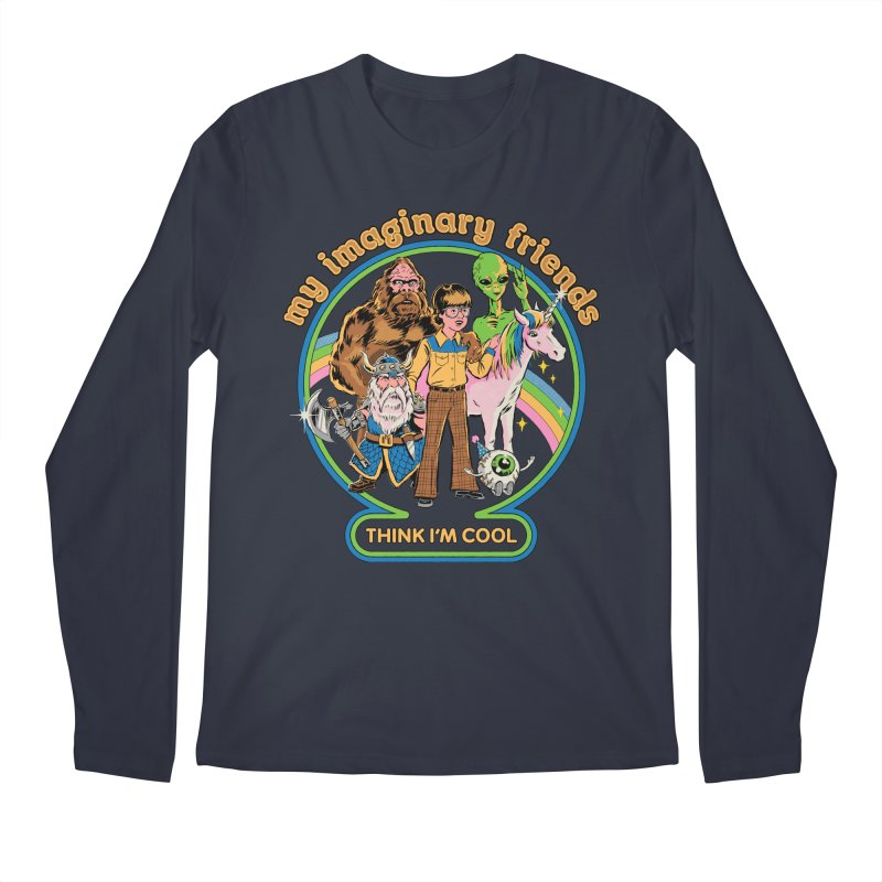 My Imaginary Friends Men's Regular Longsleeve T-Shirt by Steven Rhodes