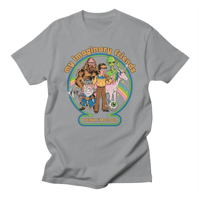 My Imaginary Friends Men's Regular T-Shirt by Steven Rhodes