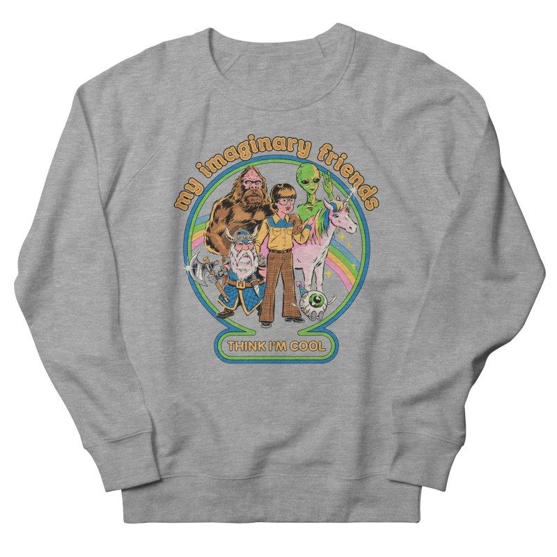 My Imaginary Friends Women's French Terry Sweatshirt by Steven Rhodes