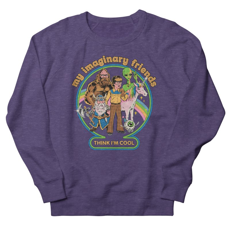 My Imaginary Friends Men's French Terry Sweatshirt by Steven Rhodes